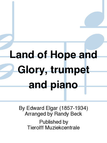 Land of Hope and Glory, trumpet and piano