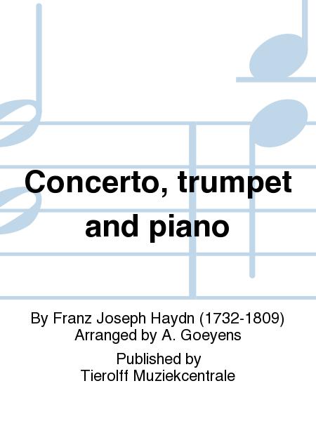 Concerto, trumpet and piano
