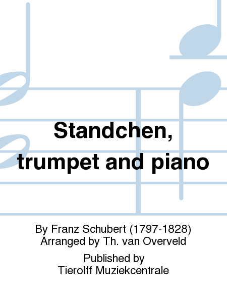 Standchen, trumpet and piano