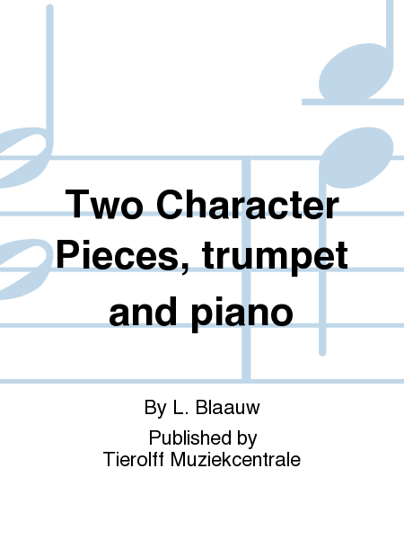 Two Character Pieces, trumpet and piano