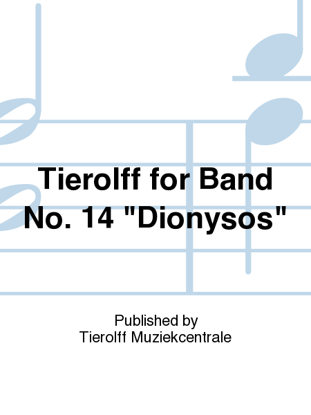 Tierolff for Band No. 14