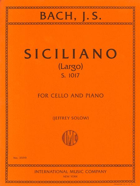 Siciliano (Largo), S. 1017