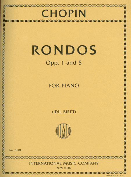 Rondos, Opp. 1 and 5