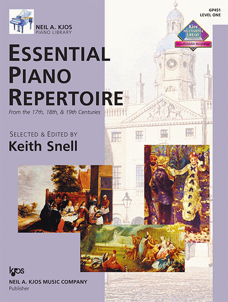 Essential Piano Repertoire - Level One