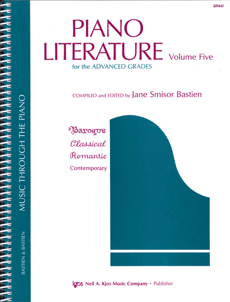 Piano Literature, Volume 5