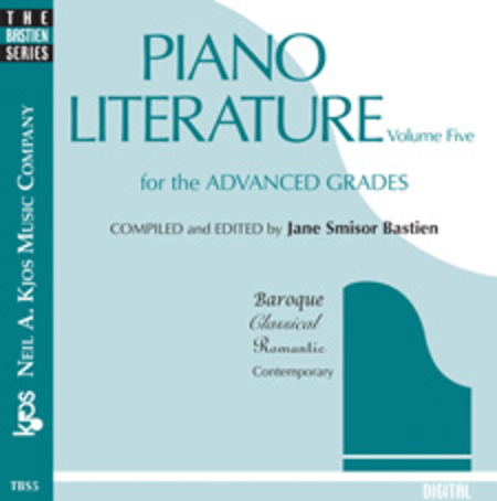 Piano Literature, Volume 5 (CD)