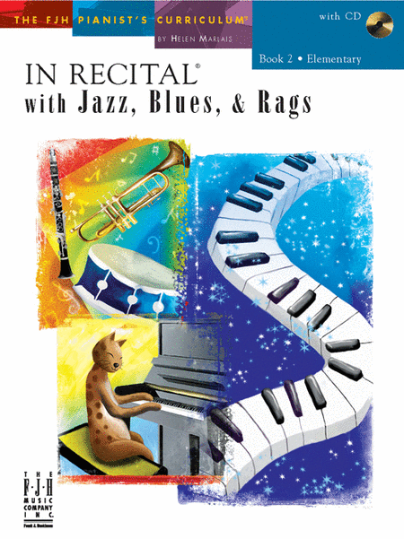 In Recital! with Jazz, Blues, & Rags, Book 2