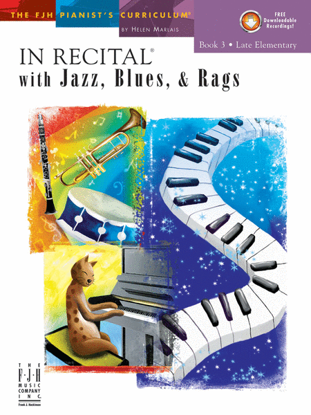 In Recital! with Jazz, Blues, & Rags, Book 3 (NFMC)