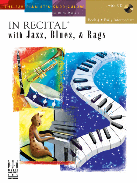 In Recital! with Jazz, Blues, & Rags, Book 4 (NFMC)
