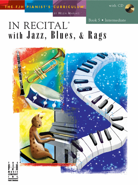 In Recital! with Jazz, Blues, & Rags, Book 5