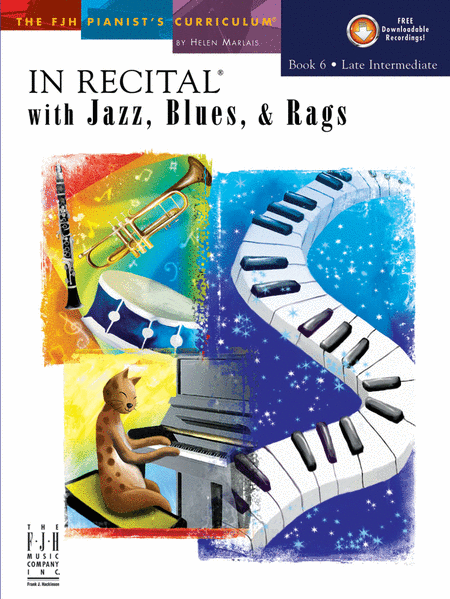 In Recital! with Jazz, Blues, & Rags, Book 6