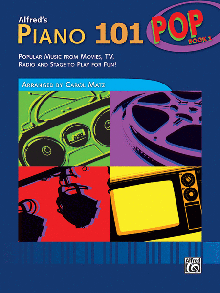 Piano 101 Pop Book 1