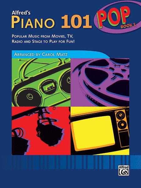 Piano 101 Pop Book 1