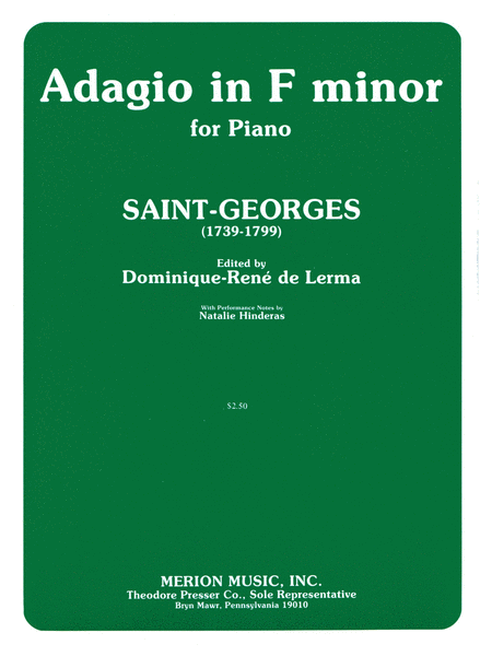 Adagio in F Minor