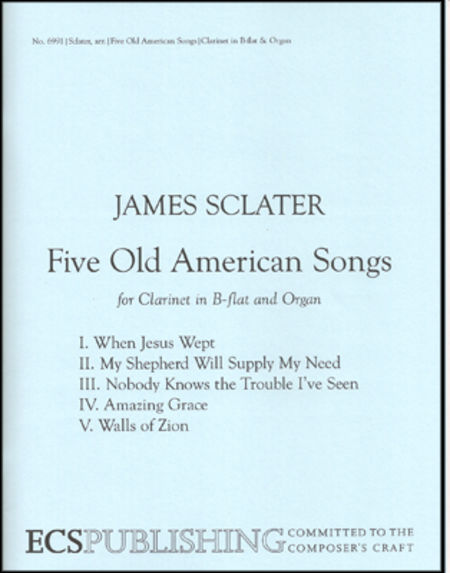 Five Old American Songs