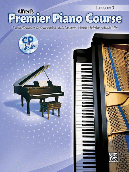 Premier Piano Course Lesson Book, Book 3