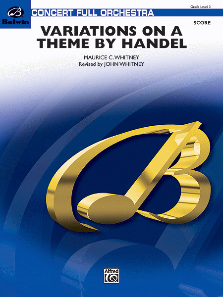 Variations on a Theme by Handel (Score only)