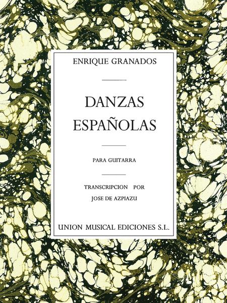Danzas Espagnolas Complete for Guitar