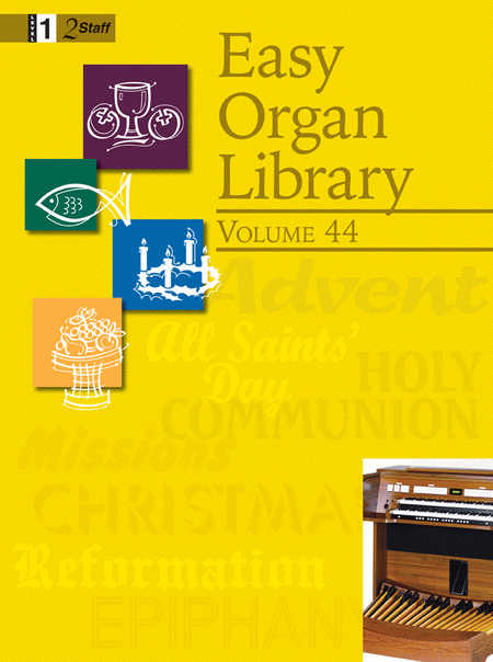 Easy Organ Library, Vol. 44