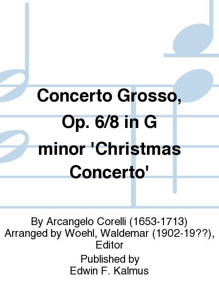 Concerto Grosso, Op. 6/8 in G minor 'Christmas Concerto'