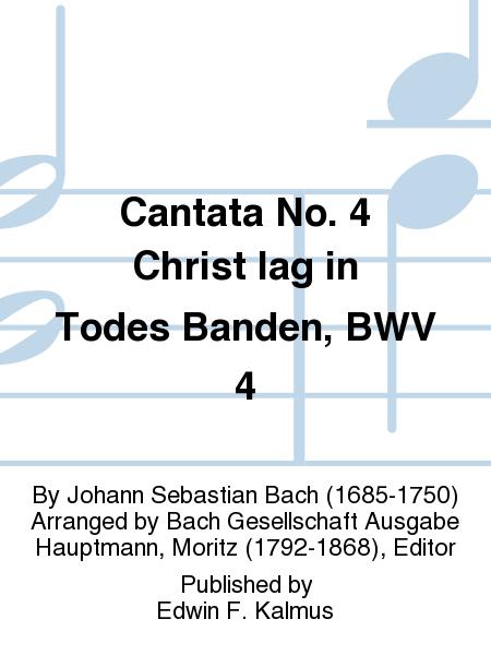 Cantata No. 4 Christ lag in Todes Banden, BWV 4