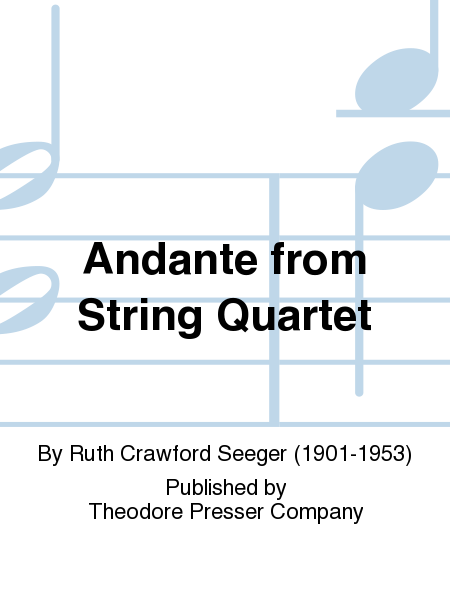 Andante from String Quartet