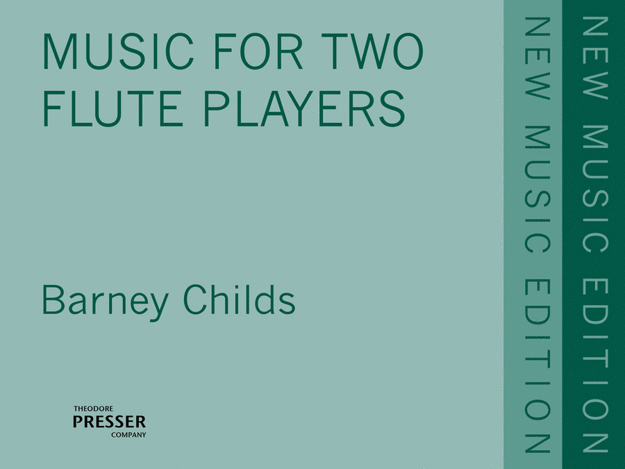Music For 2 Flute Players