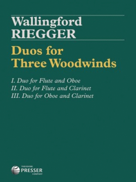 Duos For 3 Woodwinds