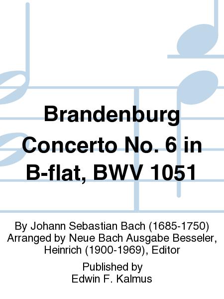 Brandenburg Concerto No. 6 in B-flat, BWV 1051
