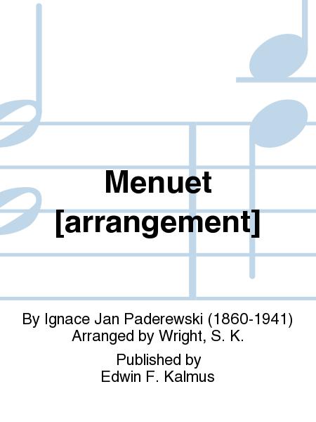 Menuet [arrangement]