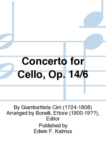 Concerto for Cello, Op. 14/6