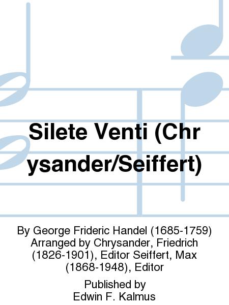 Silete Venti (Chrysander/Seiffert)