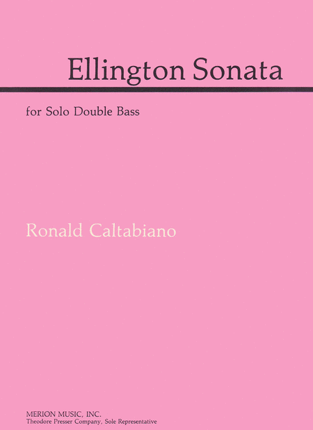 Ellington Sonata