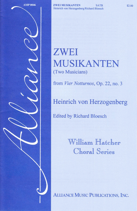 Zwei Musikanten