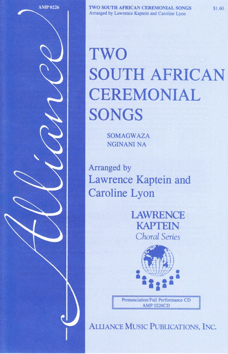 Two South African Ceremonial Songs