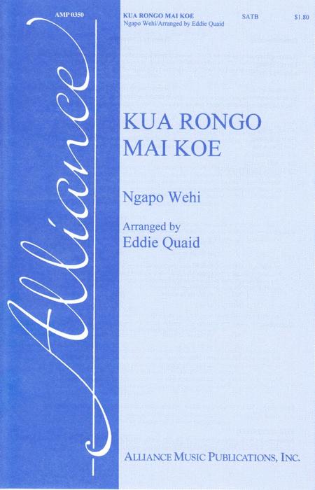 Kua Rongo Mai Koe