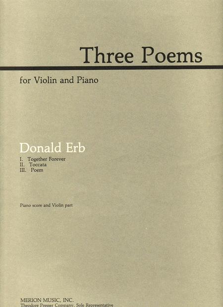 Three Poems | Brian Coffey | First Edition