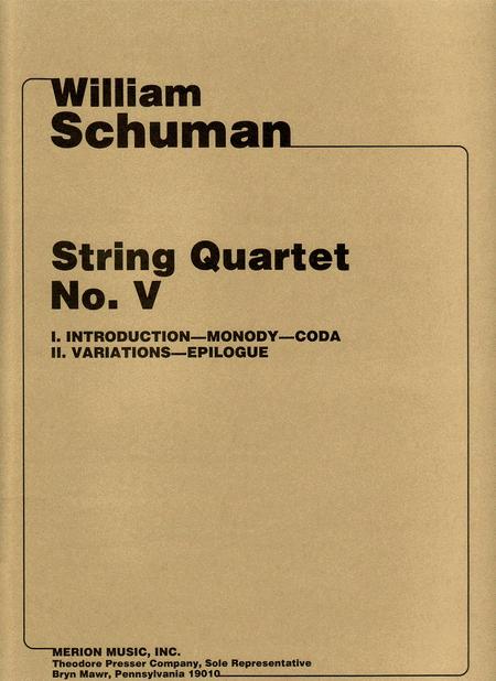 String Quartet No. V