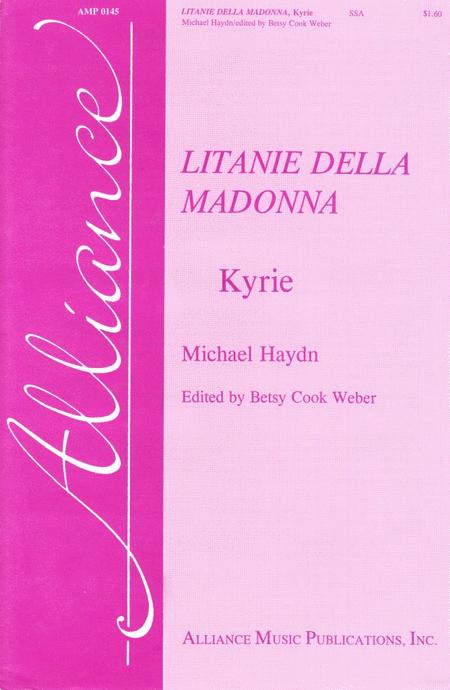 Kyrie from Litanie della Madonna