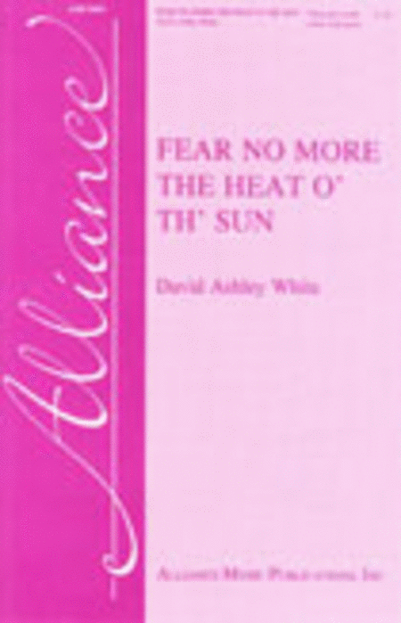 Fear No More the Heat o' th' Sun