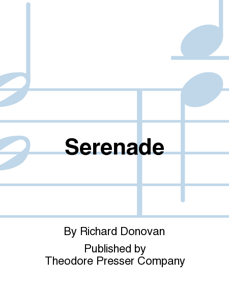 Serenade for Oboe, Vn, Va, Vc-parts only