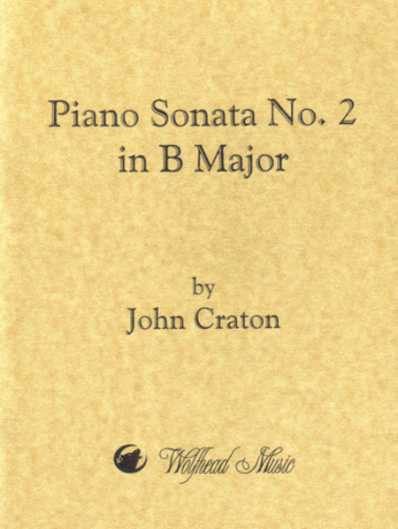 Piano Sonata No. 2 in B Major