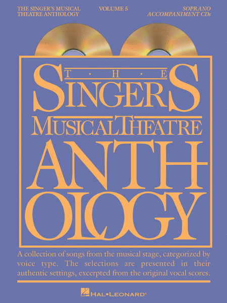 The Singer's Musical Theatre Anthology - Volume 5 - Soprano (CD only)