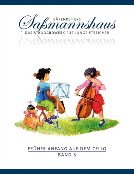 Fruher Anfang auf dem Cello, Band 3