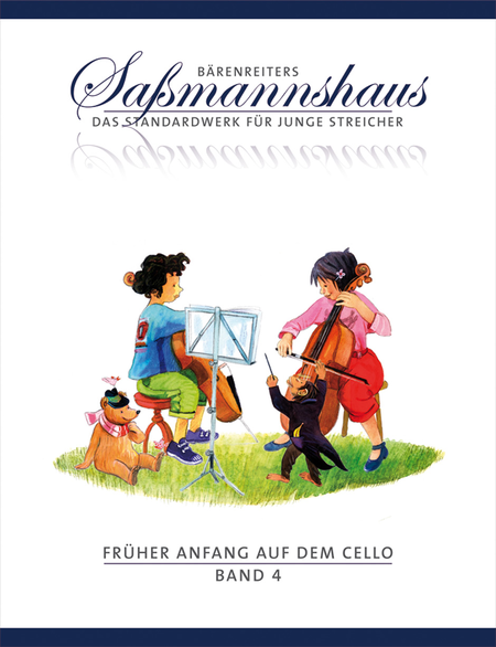 Fruher Anfang auf dem Cello, Band 4
