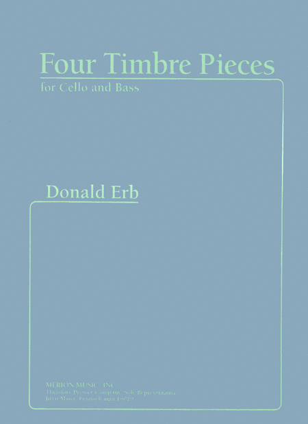 Four Timbre Pieces