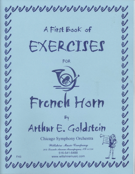 A First Book of Exercises for French Horn