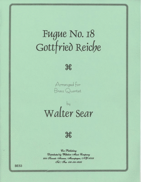 Fugue No. 18
