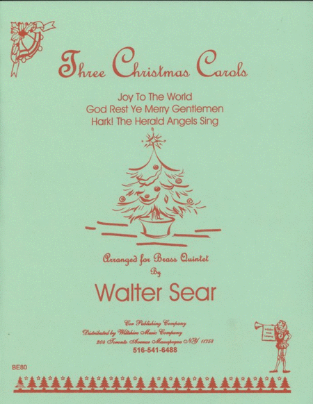 3 Christmas Carols Set 1
