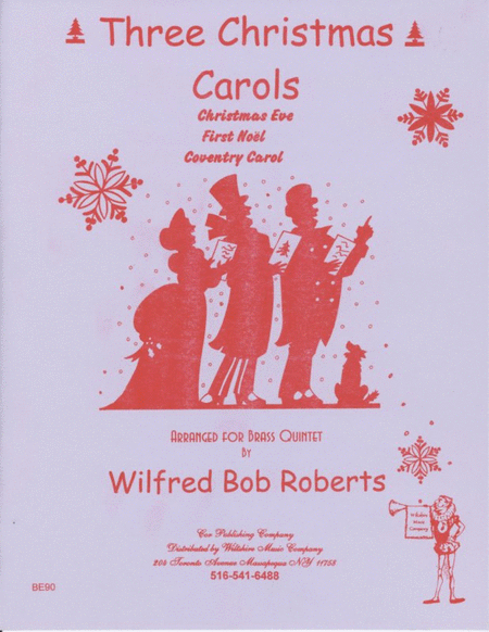 3 Christmas Carols Set 2